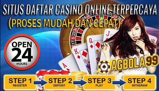 Daftar Casino Online Terpercaya dengan Mudah dan Cepat