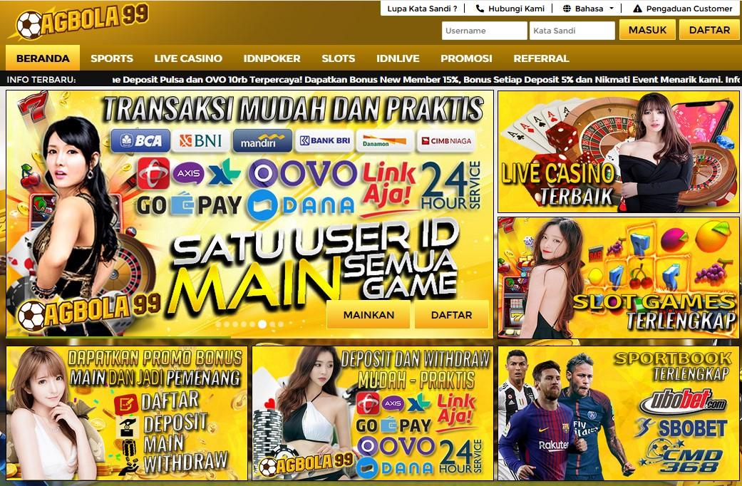 Situs Judi AGBOLA99 Online